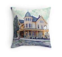 A Winters Day by RD Riccoboni Throw Pillow