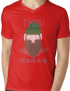 Timber tee/hoodie Mens V-Neck T-Shirt