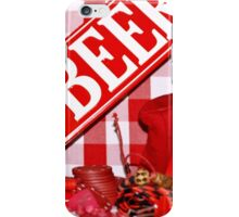 Red Gingham Photography iPhone Case/Skin