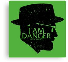 I am the Danger Canvas Print