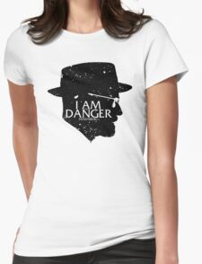 I am the Danger Womens Fitted T-Shirt