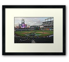 Coors Field Denver, Colorado Framed Print