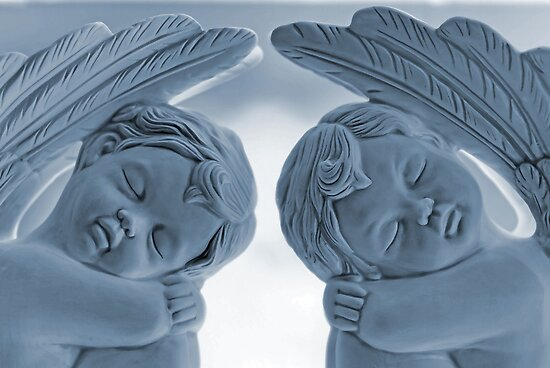 Sleep in heavenly peace . . . by Bonnie T.  Barry