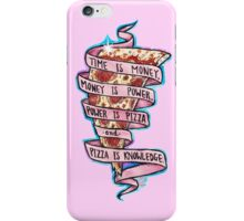 Pizza is Knowledge CutOut iPhone Case/Skin