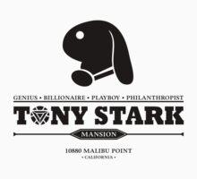Tony Stark Mansion (Black) Kids Clothes