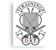 Training Corps Canvas Print