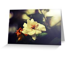 The world spins. We stumble on. It is enough. Greeting Card