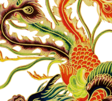 Asian Art Chinese Phoenix Sticker
