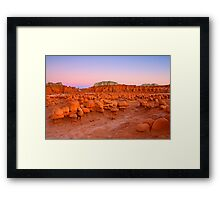 Pawns of the Desert Framed Print