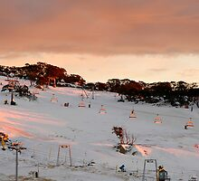 Front Valley, Perisher Blue by Benn Hartung