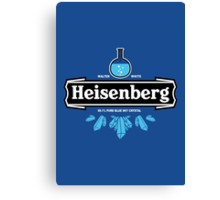 Heisenberg Blue Sky Crystal Canvas Print
