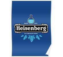 Heisenberg Blue Sky Crystal Poster