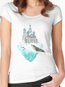 St. Peter's Iceburg Women's Fitted Scoop T-Shirt