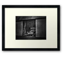 The old truck out back Framed Print