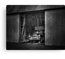 The old truck out back Canvas Print