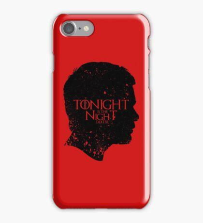 Tonight is the Night iPhone Case/Skin