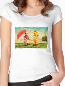 Lilliput & Venus Women's Fitted Scoop T-Shirt