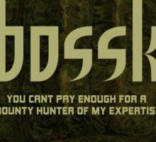 Bossk Sticker