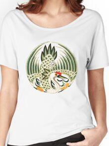 Asian Art Crane Women's Relaxed Fit T-Shirt