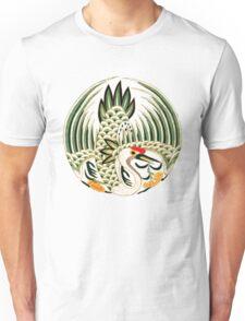 Asian Art Crane Unisex T-Shirt