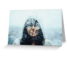 winter song Greeting Card