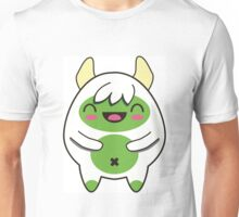 Cute Green Yeti Unisex T-Shirt