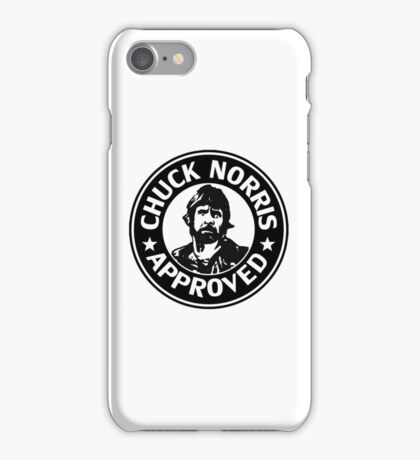 Chuck Norris Approved iPhone Case/Skin