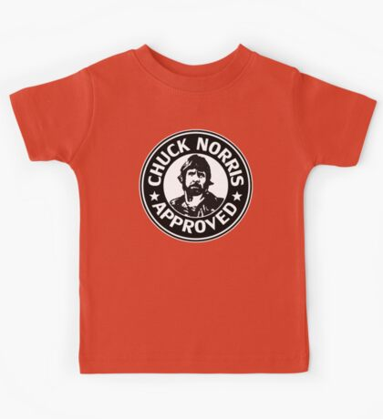 Chuck Norris Approved Kids Tee