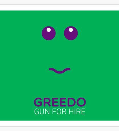 Greedo - Star Wars Sticker