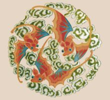 Asian Art Celestial Bats by Zehda