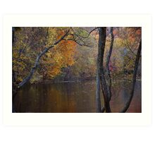 The Gloaming in Wyckoff Art Print
