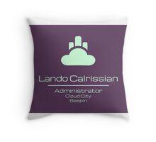 Lando Calrissian - Star Wars Throw Pillow