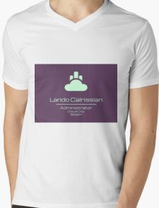 Lando Calrissian - Star Wars Mens V-Neck T-Shirt