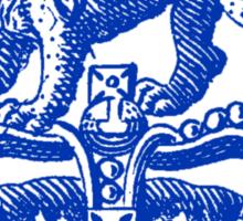 Lion & Crown Sticker