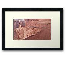 Canyon Trail Framed Print