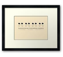 Modal Nodes - The Cantina Band - Star Wars Framed Print
