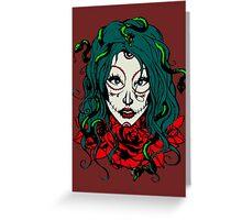 Living Dead Girl - Medusa Greeting Card