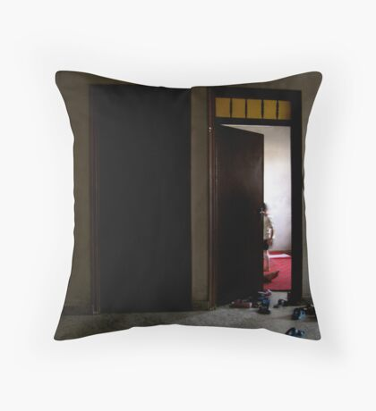 Ghost of Innocence Throw Pillow