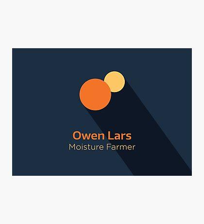 Owen Lars - Star Wars Photographic Print