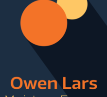 Owen Lars - Star Wars Sticker