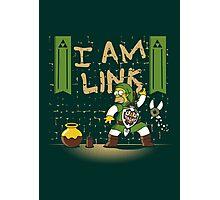 I am Link! Photographic Print