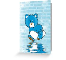 Grumpy Bear Greeting Card