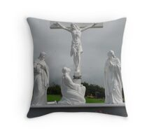 Crucifixion, Ireland Throw Pillow