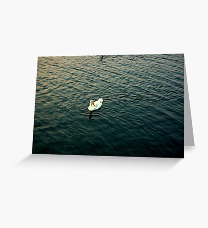 Lonely Duck Greeting Card