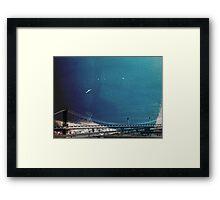 Build A Bridge Framed Print