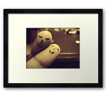 So Darling, Save the last dance for me. Framed Print
