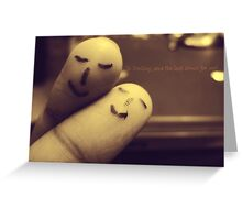 So Darling, Save the last dance for me. Greeting Card