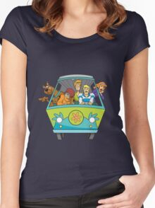 Scooby-Do Mystery Machine Women's Fitted Scoop T-Shirt