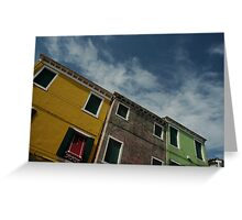 Burano Colour Greeting Card