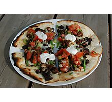 Mexican Pizza Photographic Print